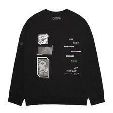 [타임월드]내셔널지오그래픽 폴룩스 그래픽 오버핏 맨투맨 티셔츠(N211MSW230)_추가이미지