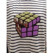 [20S/S] 큐브 스팽글 티셔츠 BATS97031_추가이미지