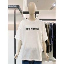 [21여름,기획상품]뉴노멀 레터링 티셔츠(9171222553)