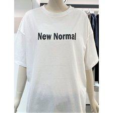 [21여름,기획상품]뉴노멀 레터링 티셔츠(9171222553)_추가이미지