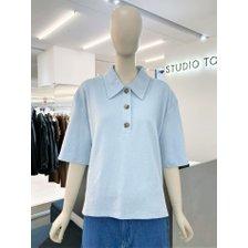 [21여름,기획상품] 솔리드 카라 티셔츠(9171222095)