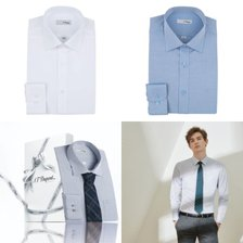 20년 F/W 신상품 듀퐁 긴소매셔츠 2종택1 (슬림핏)SE0FM21LS304SWH/BU