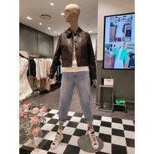 [21봄]크롭 가죽 셔츠 자켓(SALE70111)