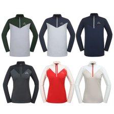 [2019년 출시제품] 긴팔 테크니컬 남성/여성 짚업 티셔츠 DMS19205/DWS19206_추가이미지