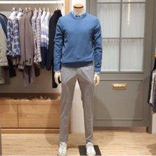 [올젠] 솔리드 라운드 스웨터 (ZPB1ER1501BL)_갤광교