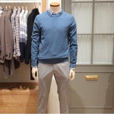 [올젠] 솔리드 라운드 스웨터 (ZPB1ER1501BL)_갤광교_추가이미지