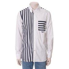 2020S/S 품목할인 T12A1WSH420MT1 0A4 레귤러 핏 더블 스트라이프 캐쥬얼 셔츠