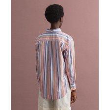 [21FW] 간트 여성 멀티 스트라이프 셔츠 멀티 DG72120012 MULTI_추가이미지