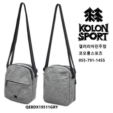 코오롱스포츠 MINI SOULDER BAG(QEBDX19511GRY)