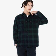 [21F/W][남성]울혼방 아우터형 빅체크 셔츠(CH501E-51N 166네이비)