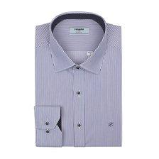 (21FW/긴소매 슬림핏) 스판소재 스트라이프 셔츠 RLFSL0131BU