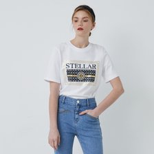 (21 여름) 텍스트 레터링 아트웍 반팔 티셔츠 EM2OTH02