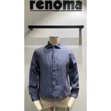 레노마옴므 S/S 캐주얼 마 남방 셔츠 (MIPBC02)