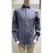 레노마옴므 S/S 캐주얼 마 남방 셔츠 (MIPBC02)_추가이미지