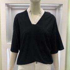[20 기획 S/S] 브이넥 나그랑 티셔츠 BK3E0TS31