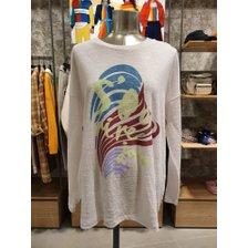[20S/S] 프린트 롱 마 티셔츠 BATS08011