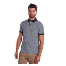 [갤러리아 광교] 바버 Barbour 남성 Sport 폴로 Mix 티셔츠 블루 (MML0628)