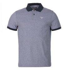 [갤러리아 광교] 바버 Barbour 남성 Sport 폴로 Mix 티셔츠 블루 (MML0628)_추가이미지