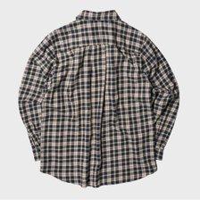 [남녀공용] CU20-4 체크 셔츠 자켓 카키 CU204OU02KH_추가이미지