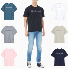 20S/S[남]기본로고 프린트 레귤러핏 티셔츠(J315410-BAE)