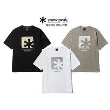[스노우피크][센터시티]류승범 착용 스태리 아스타리스크 반팔 티셔츠 TS63