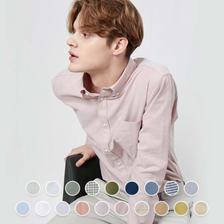 [지오다노]코튼 옥스포드 버튼다운 셔츠 (01041301)