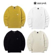 [스노우피크][센터시티점] 헤리티지 원포켓 긴팔 티셔츠 TL40