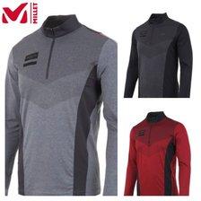 [MILLET] 밀레 남성 가을 카니 짚업 티셔츠 (MXNFT001)
