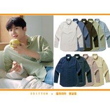 에디션앤드지 21s/s 이지케어 린넨 셔츠 NEB2WC1901