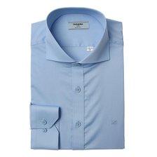 21년 S/S신상품  C/P트윌 솔리드 와이드 긴소매셔츠(슬림핏)RLSSL0-103-BU/블루