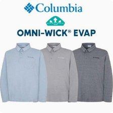 컬럼비아 남성 긴팔 카라 티셔츠 C21-YMP613
