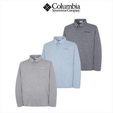 컬럼비아 남성 기능성 카라 티셔츠 C21 YMP613