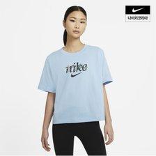 여성 나이키 스포츠웨어 네이처 박시 여성 반팔 티셔츠 AS DD1457-436