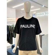 [21여름,기획상품]폴라인 레터링 티셔츠(9171222551)