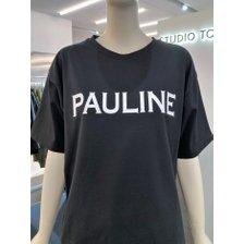 [21여름,기획상품]폴라인 레터링 티셔츠(9171222551)_추가이미지