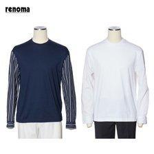 레노마 옴므(정장) S/S 스트라이프 캐주얼 티셔츠 2종 (RMIMTT023)