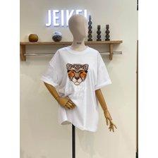 치타 루즈핏 반팔 티셔츠  JL5TS003B