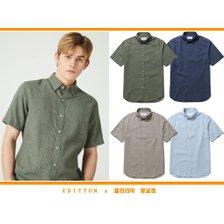 에디션앤드지 21s/s 이지케어 린넨반팔 캐주얼 셔츠 NEB2WC1951