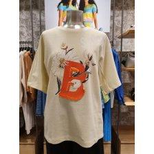 [21S/S] 플라워 프린팅 반팔 티셔츠 BATS59131