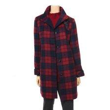 체크무늬 모혼방 재킷 RZ4-JK400B