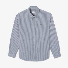[21F/W남성]코튼 옥스포드 브러시드 스트라이프 셔츠(CH182E-51N166네이비)
