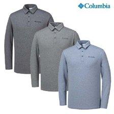 컬럼비아 남성 기능성 긴팔카라티셔츠 YMP622