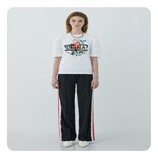 [21여름]플라워 프린트 퍼프 소매 티셔츠[EM2OTH03]_추가이미지
