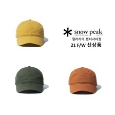 [스노우피크][갤러리아센터시티] 캠피 볼캡 (S21FURCP01MS)