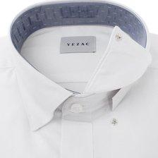 예작 21년 F/W 신상품 스냅카라 솔리드 남방셔츠 (일반핏 긴소매) YJ1FBR101WH_추가이미지