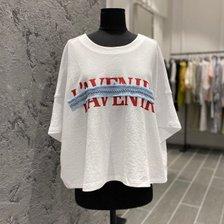 [20 여름기획]OL 크롭 레터링 티셔츠 7150240107