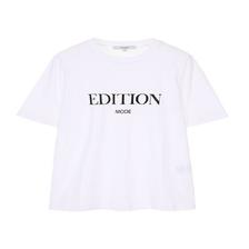 [온앤온] 레터링 프린트 티셔츠 NE1XE090