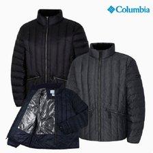 컬럼비아 남성 경량 구스다운 YMM301