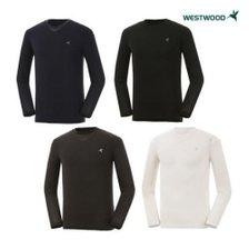 웨스트우드 [남성] 긴팔 라운드 냉감 티셔츠 (WZ0MCCT753)
