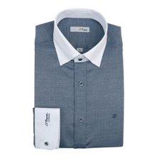 20년 S/S 신상품 듀퐁 솔리드크레릭 긴소매셔츠(슬림핏) SE0SM21LS322SNY